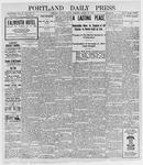 Portland Daily Press: August 29, 1898