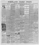 Portland Daily Press: September 3, 1898