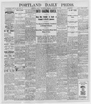 Portland Daily Press: September 7, 1898