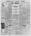Portland Daily Press: September 10, 1898