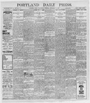 Portland Daily Press: September 14, 1898