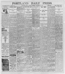 Portland Daily Press: September 17, 1898
