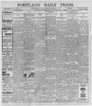Portland Daily Press: September 19, 1898
