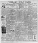 Portland Daily Press: September 22, 1898