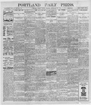 Portland Daily Press: September 23, 1898