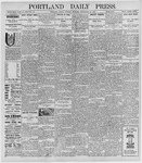 Portland Daily Press: September 26, 1898
