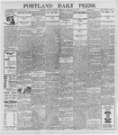 Portland Daily Press: September 29, 1898