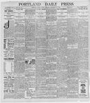 Portland Daily Press: September 30, 1898