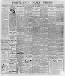 Portland Daily Press: October 1, 1898