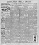 Portland Daily Press: October 3, 1898