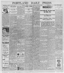Portland Daily Press: October 6, 1898