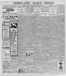 Portland Daily Press: October 10, 1898
