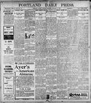 Portland Daily Press: January 3, 1899
