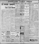 Portland Daily Press: January 10, 1899