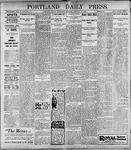 Portland Daily Press: January 11, 1899