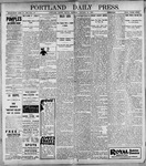 Portland Daily Press: January 13, 1899