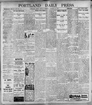 Portland Daily Press: January 16, 1899