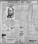 Portland Daily Press: January 21, 1899