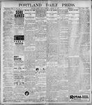 Portland Daily Press: January 27, 1899