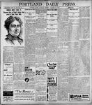 Portland Daily Press: January 28, 1899