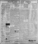 Portland Daily Press: January 30, 1899