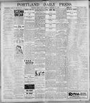 Portland Daily Press: February 10, 1899