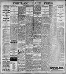 Portland Daily Press: March 1, 1899