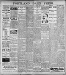 Portland Daily Press: March 3, 1899