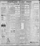 Portland Daily Press: March 15, 1899