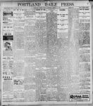 Portland Daily Press: March 17, 1899
