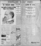 Portland Daily Press: March 18, 1899