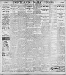 Portland Daily Press: March 20, 1899