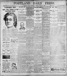 Portland Daily Press: March 22, 1899