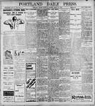 Portland Daily Press: March 25, 1899