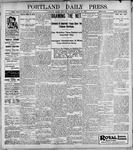 Portland Daily Press: March 27, 1899