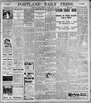 Portland Daily Press: March 28, 1899