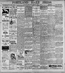 Portland Daily Press: April 7, 1899