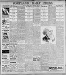 Portland Daily Press: April 10, 1899