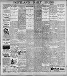 Portland Daily Press: April 14, 1899