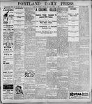Portland Daily Press: April 24, 1899