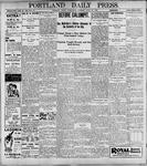 Portland Daily Press: April 26, 1899