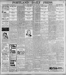 Portland Daily Press: April 27, 1899