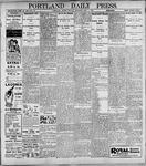 Portland Daily Press: May1, 1899