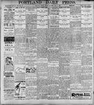 Portland Daily Press: May5, 1899