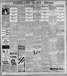 Portland Daily Press: May9, 1899