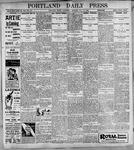 Portland Daily Press: May10, 1899