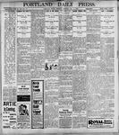 Portland Daily Press: May11, 1899