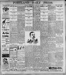 Portland Daily Press: May12, 1899
