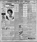 Portland Daily Press: May13, 1899