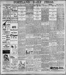 Portland Daily Press: May15, 1899